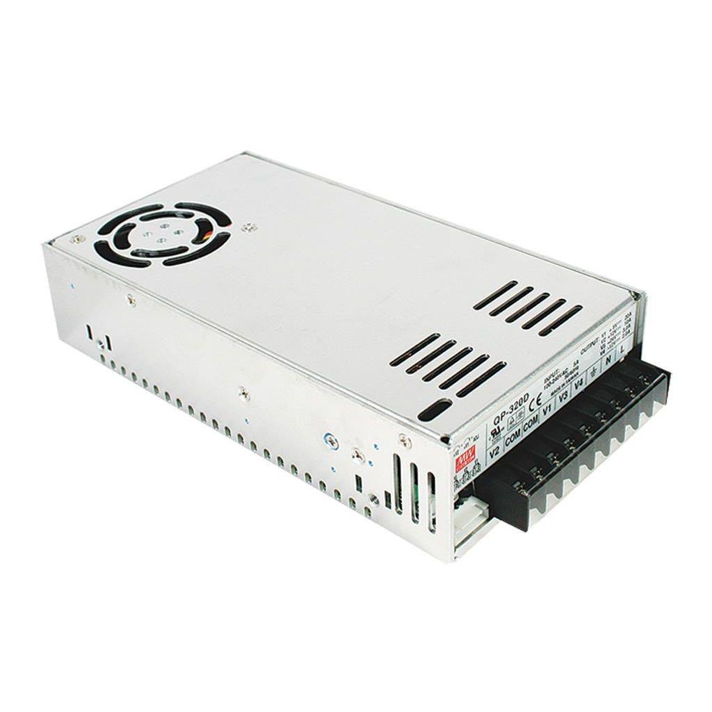 Mean Well QP-320F AC/DC Box Type - Enclosed 5V 20A Power Supply