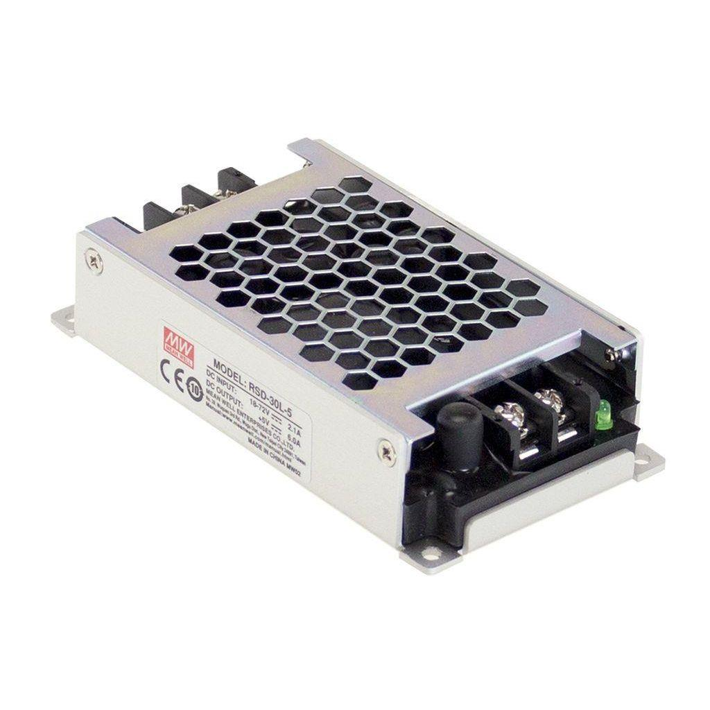 Mean Well DC/DC Box Type - Enclosed 24V 1.25A Converter
