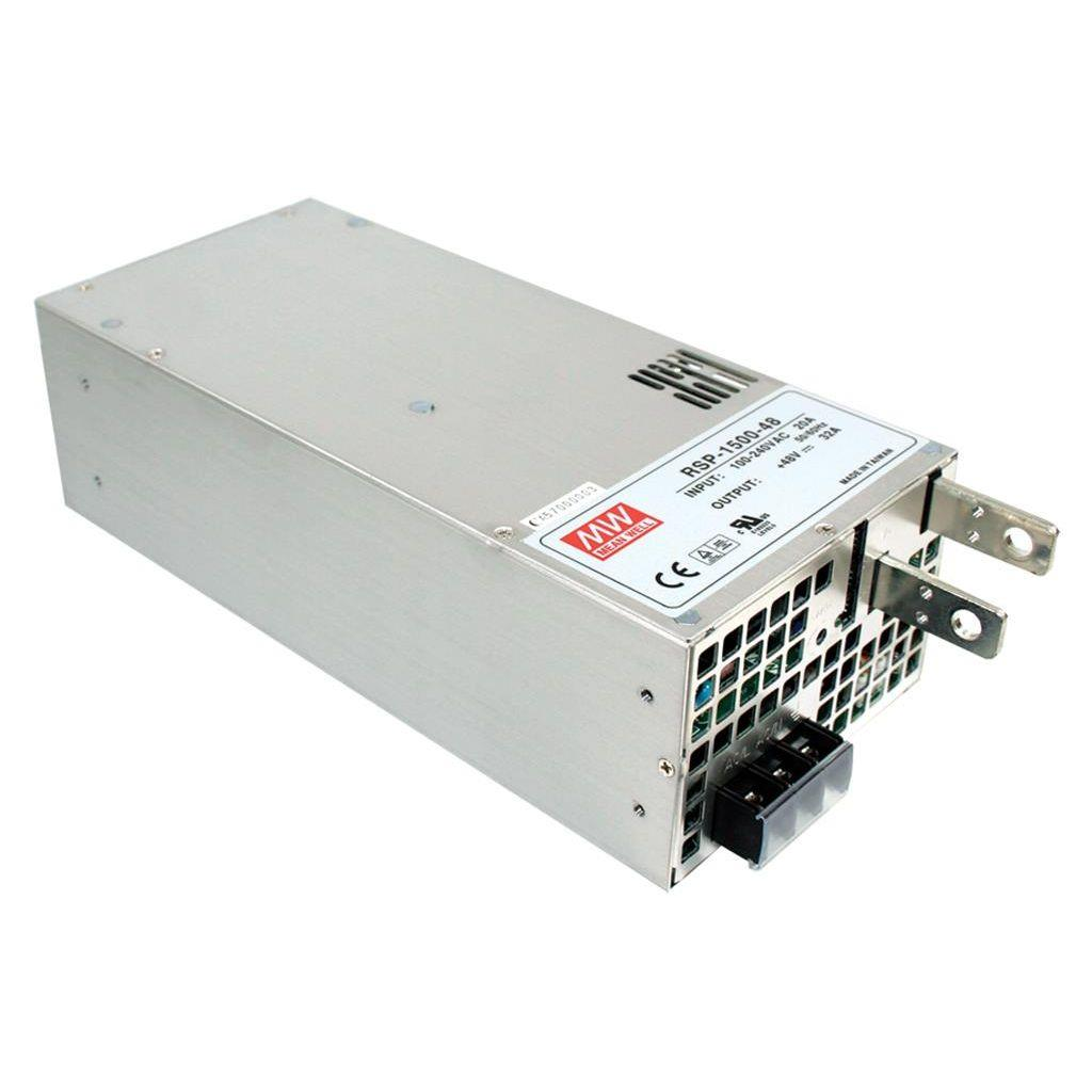 Mean Well RSP-1500-12 AC/DC Box Type - Enclosed 12V 125A Power Supply