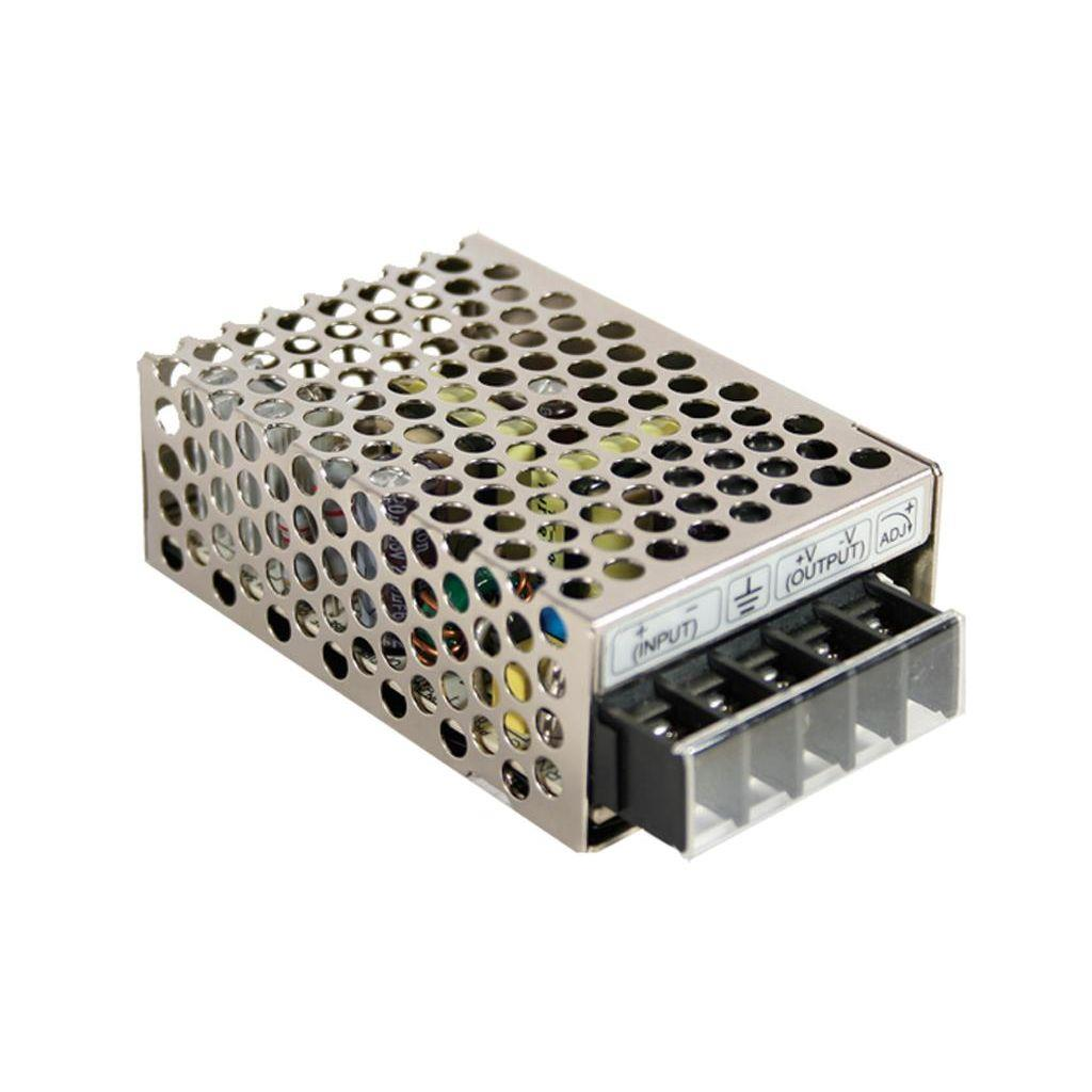 Mean Well SD-15C-5 DC/DC Box Type - Enclosed 5V 3A Converter