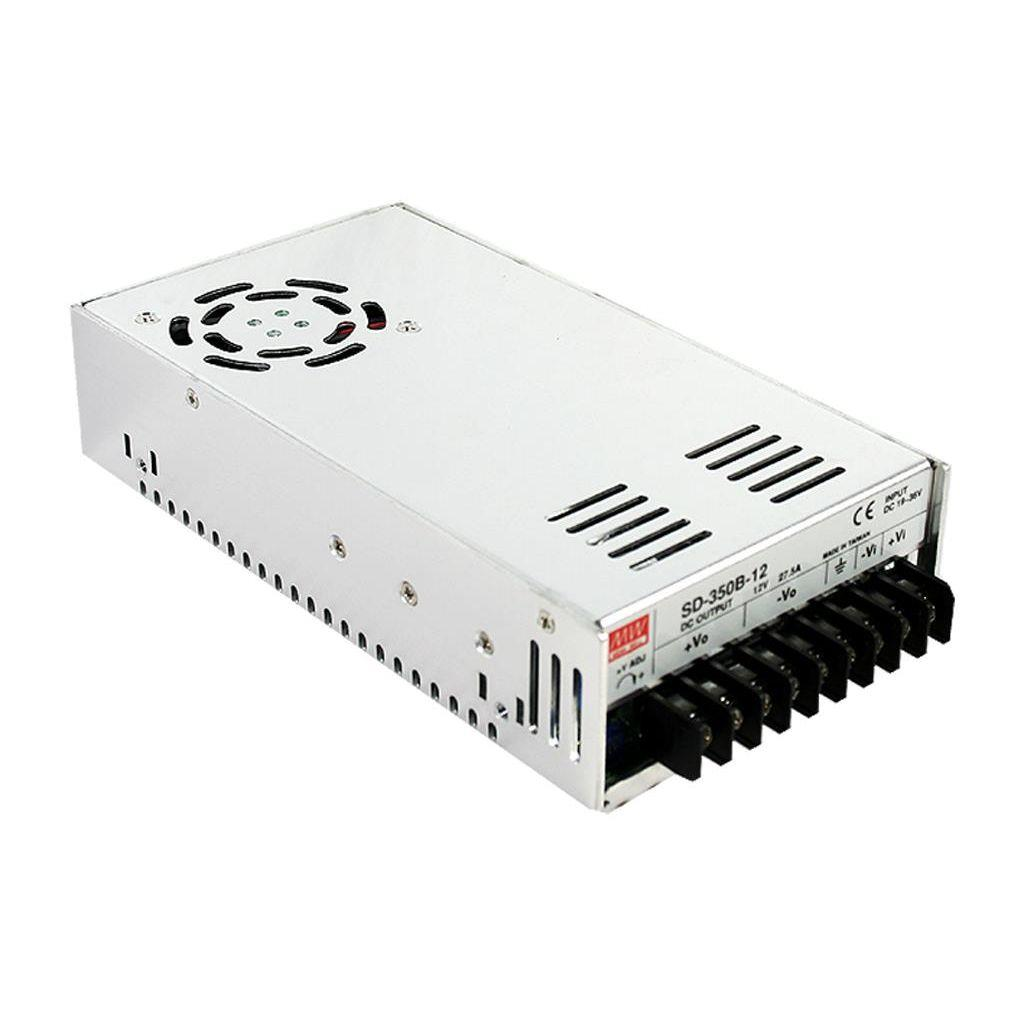 Mean Well SD-350C-48 DC/DC Box Type - Enclosed 48V 7.3A Converter