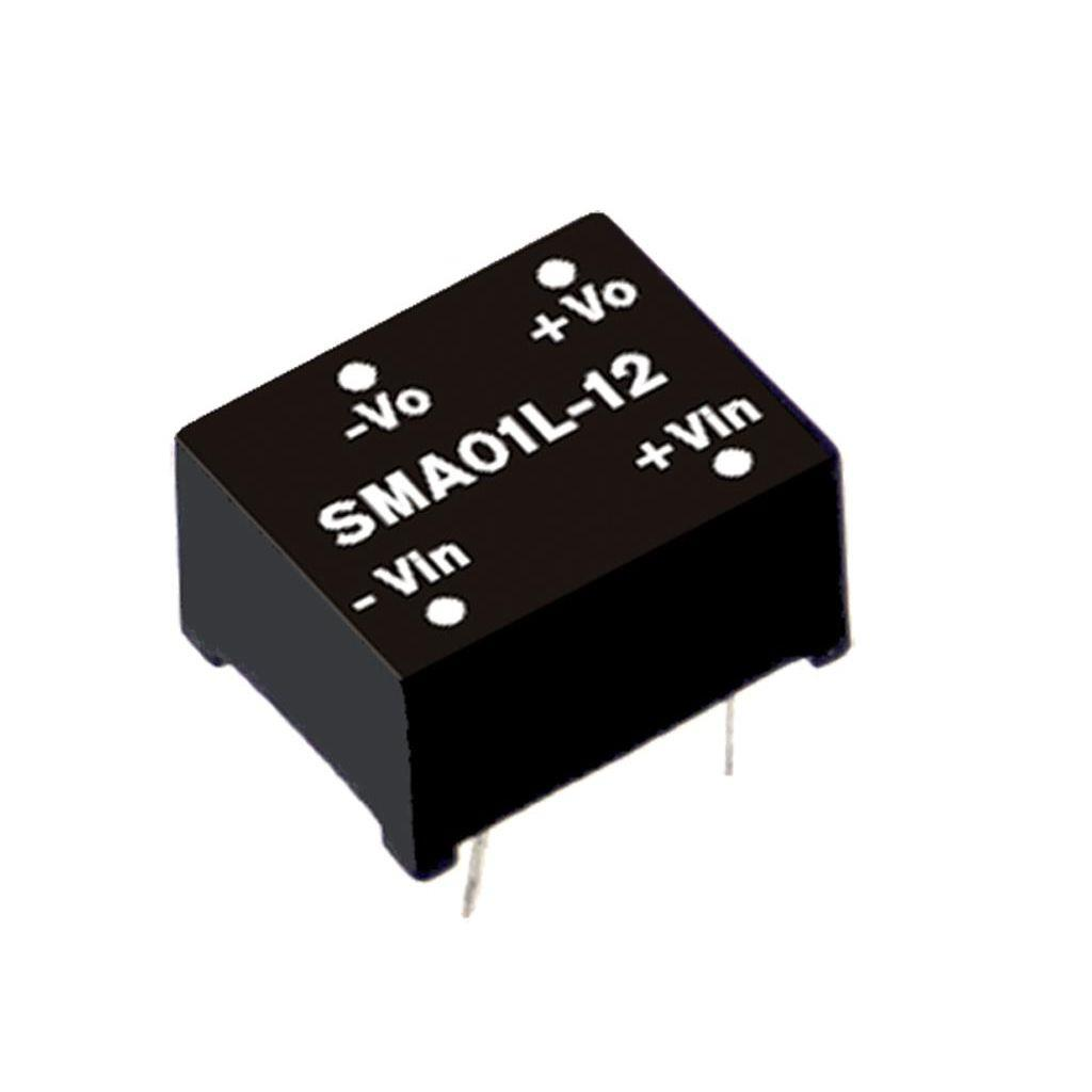 Mean Well SMA01L-09 DC/DC PCB Mount - Through Hole 9V 0.11A Converter