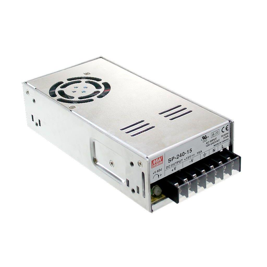Mean Well SP-240-15 AC/DC Box Type - Enclosed 15V 16A Power Supply