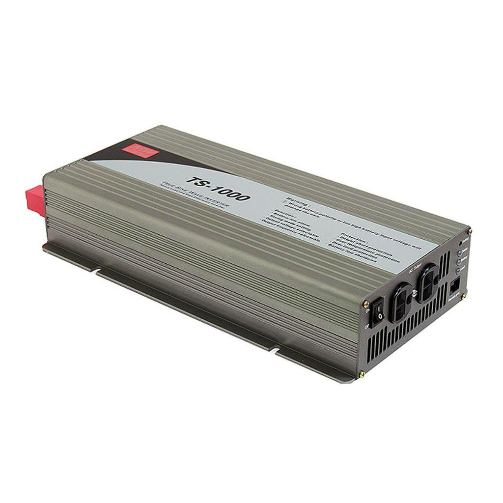 Mean Well TS-1000-248D DC/AC True Sine Wave 230V 4.35A Power Inverter