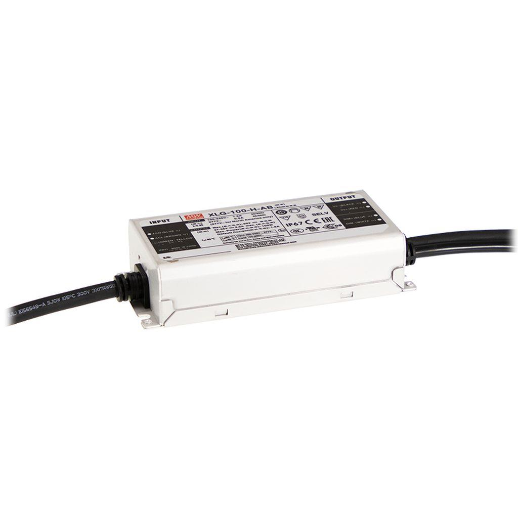 Mean Well XLG-100-H-AB AC/DC Box Type - Enclosed 56V 2.1A LED Driver