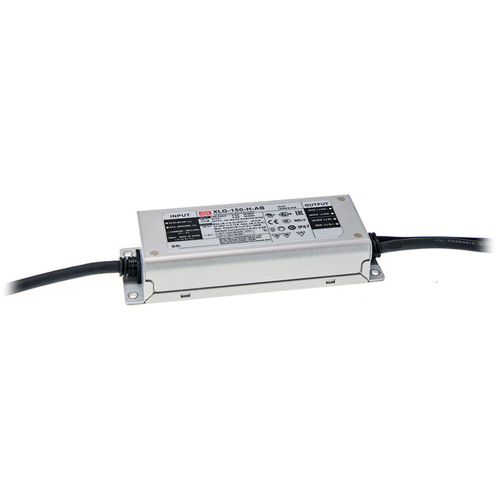 Mean Well XLG-150-M-A AC/DC Box Type - Enclosed 107V 2.1A LED Driver