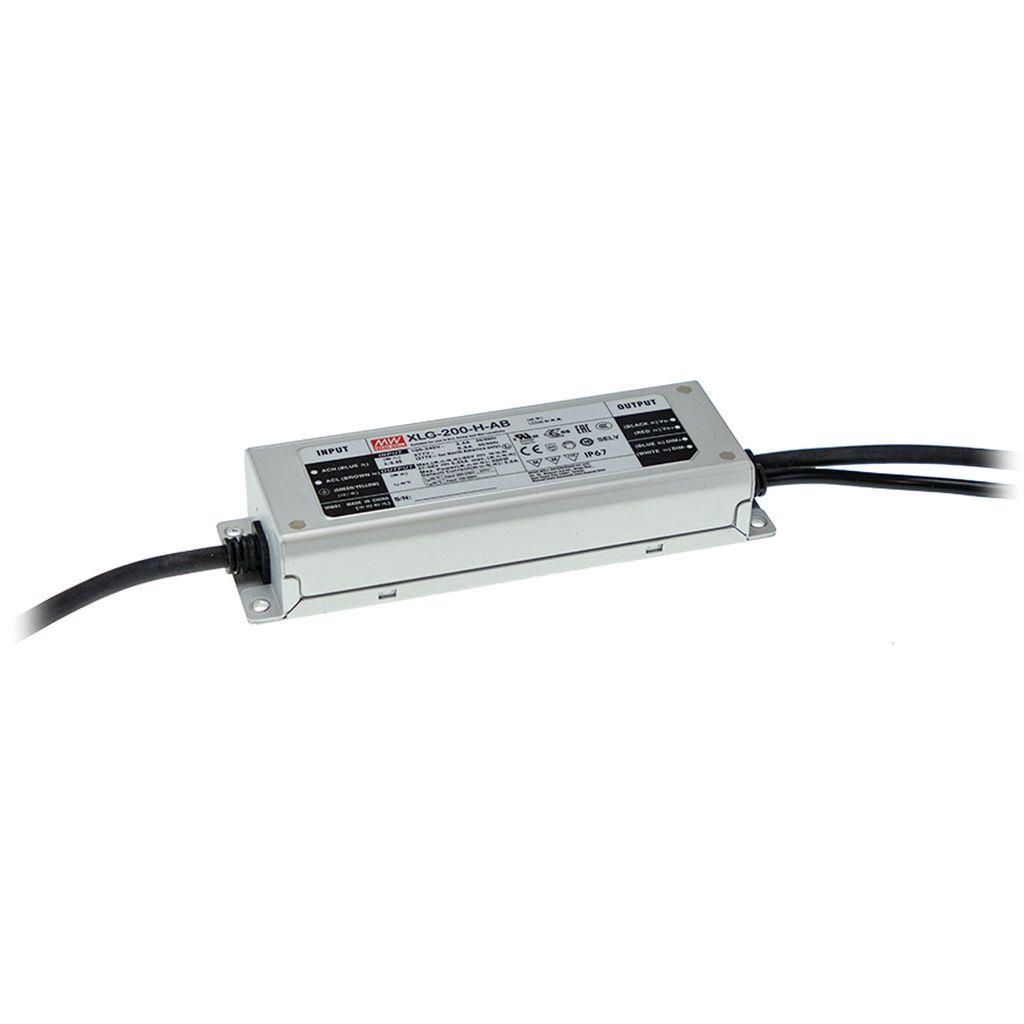 Mean Well XLG-200-12 AC/DC Box Type - Enclosed 12V 16A LED Driver