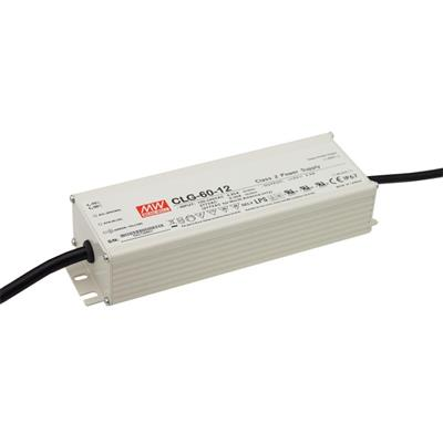 Mean Well CLG-60-15 AC/DC C.C. C.V. Box Type - Enclosed 15V 4A Single output LED driver