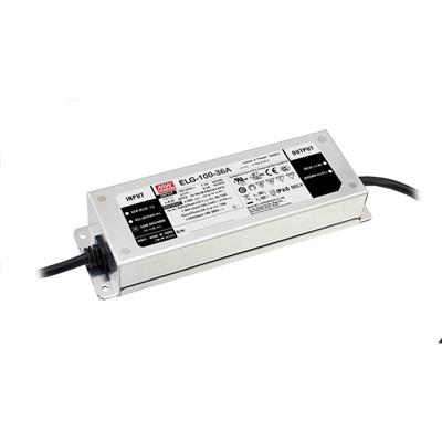 Mean Well ELG-100-24DA AC/DC C.V. C.C. Box Type - Enclosed 24V 4A Single output LED Driver