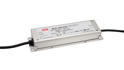 Mean Well ELG-150-24A AC/DC C.C. Box Type - Enclosed 24V 6.25A Single output LED Driver
