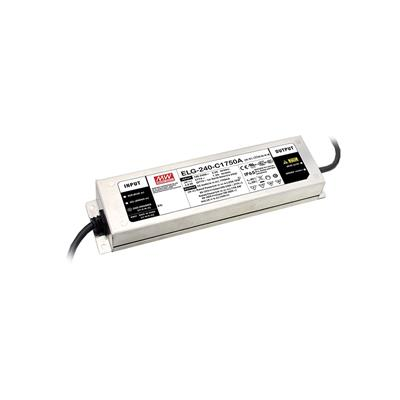 Mean Well ELG-240-24D2-3Y AC/DC C.C. C.V. Box Type - Enclosed 24V 10A LED Driver