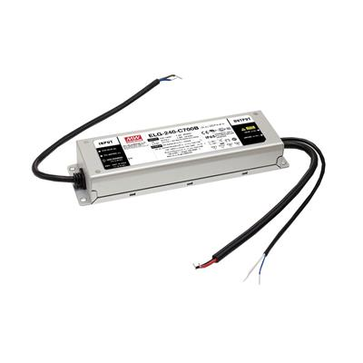 Mean Well ELG-240-C700AB-3Y AC/DC Box Type - Enclosed 343V 0.7A Single output LED driver