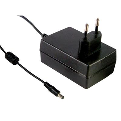 Mean Well GSM25E12-P1J AC/DC Wall Mount 12V 2.08A adaptor