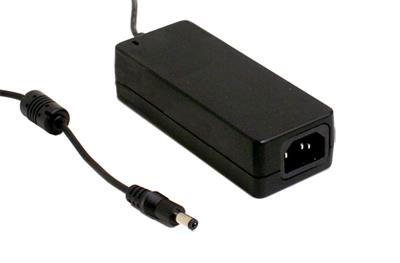 Mean Well GSM60A24-P1J AC/DC Desktop 24V 2.5A adaptor