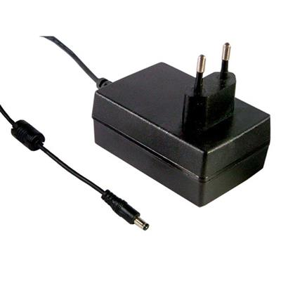 Mean Well GST25E18-P1J AC/DC Wall Mount 18V 1.38A adaptor