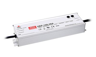 Mean Well HEP-100-48A AC/DC Box Type - Enclosed 48V 2A Power Supply