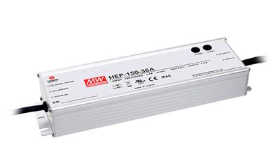 Mean Well HEP-150-15A AC/DC Box Type - Enclosed 15V 10A Power Supply