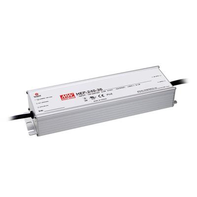 Mean Well HEP-240-36 AC/DC Box Type - Enclosed 36V 6.7A Power Supply