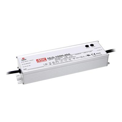 Mean Well HLG-100H-20A AC/DC C.V. C.C. Box Type - Enclosed 20V 4.8A Single output LED driver