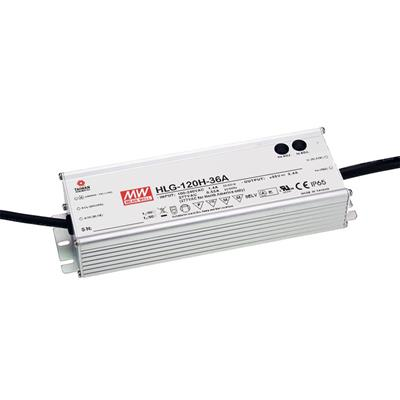 Mean Well HLG-120H-42 AC/DC C.V. C.C. Box Type - Enclosed 42V 2.9A Single output LED driver