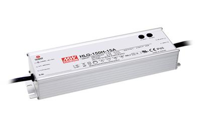 Mean Well HLG-150-12B AC/DC C.V. C.C. Box Type - Enclosed 12V 12.5A Power Supply