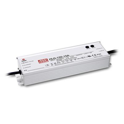 Mean Well HLG-150H-12B AC/DC C.V. C.C.  Box Type - Enclosed 12V 12.5A Single output LED driver