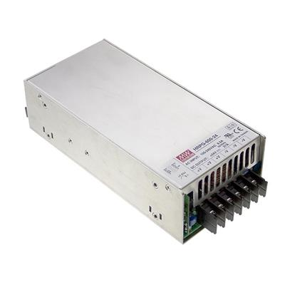 Mean Well HRP-600-12 AC/DC Box Type - Enclosed 12V 53A Power Supply