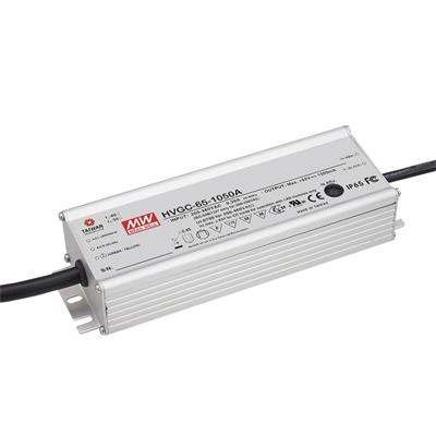 Mean Well HVGC-65-700A AC/DC C.C.  Box Type - Enclosed 93V 0.7A Single output LED driver