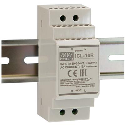 Mean Well ICL-16R AC DIN rail Inrush Current Limiter; Input 180-264VAC; Rail mounted