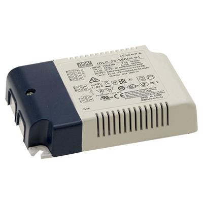 Mean Well IDLC-25-500 AC/DC C.C. Box Type - Enclosed 50V 0.5A Power Supply