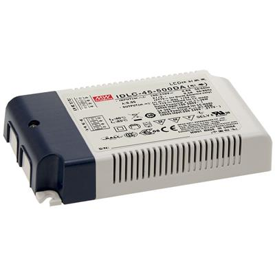 Mean Well IDLC-45-500DA AC/DC C.C. Box Type - Enclosed 90V 0.5A LED Driver