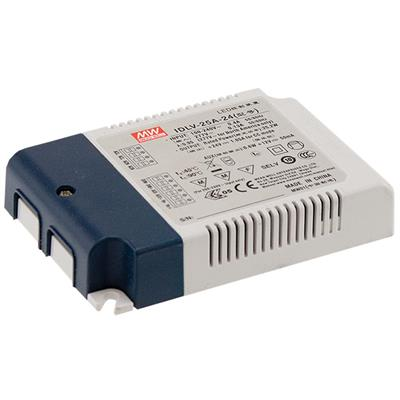 Mean Well IDLV-25-12 AC/DC C.V. Box Type - Enclosed 12V 1.8A LED Driver
