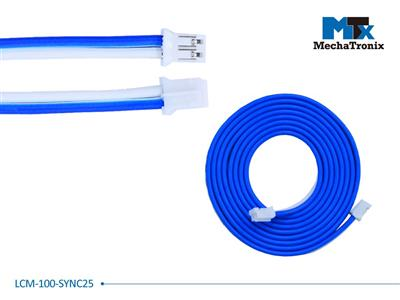 Mechatronix LCM-100-SYNC25 Dimming synchronization cable for Mean Well LCM-25 LED driver; L-00cm