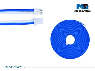 Mechatronix LCM-500-SYNC25 Dimming synchronization cable for Mean Well LCM-25 LED driver; L500cm