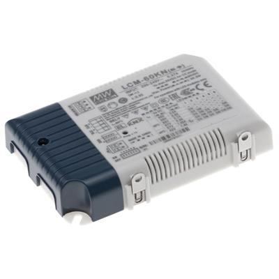 Mean Well LCM-60KN-AUX AC/DC C.C. Box Type - Enclosed 90/90/86/67/57/42V 0.5/0.6/0.7/0.9/1.05/1.4A LED Driver