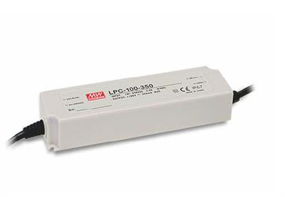 Mean Well LPC-100-1050 AC/DC C.C. Box Type - Enclosed 96V 1.05A Single output LED driver