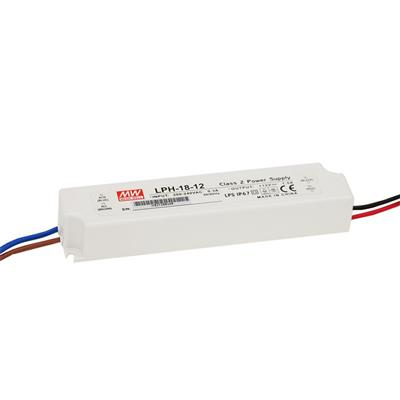 Mean Well LPH-18-24 AC/DC C.V. Box Type - Enclosed 24V 18A Single output LED driver