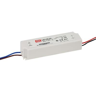 Mean Well LPV-35-24 AC/DC C.V. Box Type - Enclosed 24V 1.5A Single output LED driver