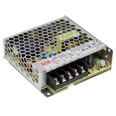 Mean Well LRS-75-48 AC/DC Box Type - Enclosed 48V 1.6A Power Supply