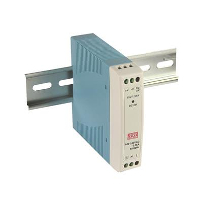 Mean Well MDR-10-15 AC/DC DIN Rail 15V 0.67A Power Supply