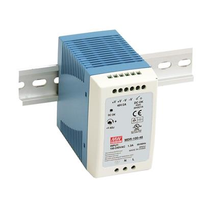 Mean Well MDR-100-24 AC/DC DIN Rail 24V 4A Power Supply