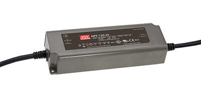 Mean Well NPF-120-24 AC/DC C.V. C.C. Box Type - Enclosed 24V 5A Single output LED driver