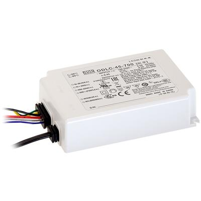 Mean Well AC/DC C.C Box Type - Enclosed 43V 1.05A LED Driver