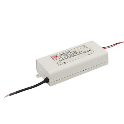 Mean Well PCD-40-350B AC/DC C.C.  Box Type - Enclosed 108V 0.35A Single output LED driver