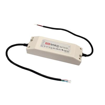 Mean Well PLN-60-15 AC/DC C.C. Box Type - Enclosed 15V 4A Single output LED driver