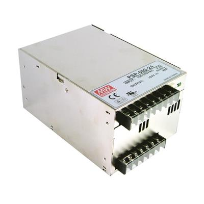 Mean Well PSP-600-24 AC/DC Box Type - Enclosed 24V 25A Power Supply