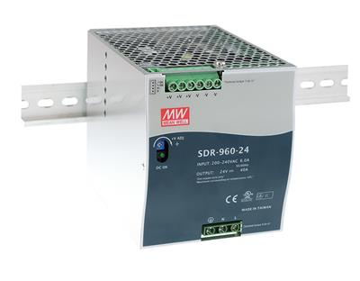 Mean Well SDR-960-48 AC/DC DIN Rail 48V 20A Power Supply