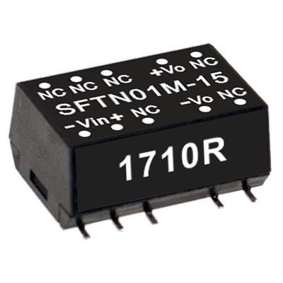 Mean Well SFTN01L-05 DC/DC PCB Mount - SMD 5V 0.2A Converter