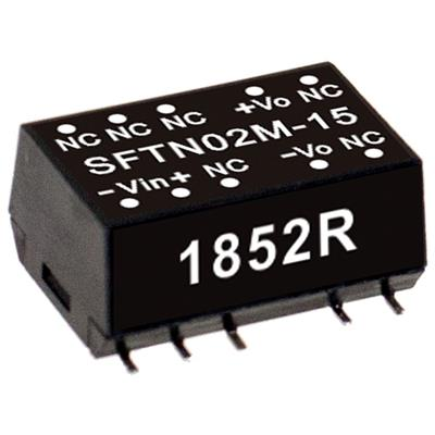 Mean Well SFTN02N-12 DC/DC PCB Mount - SMD 12V 0.167A Converter