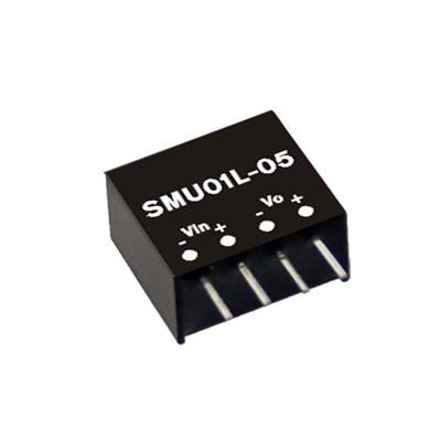 Mean Well SMU01N-05 DC/DC PCB Mount - Through Hole 5V 0.2A Converter